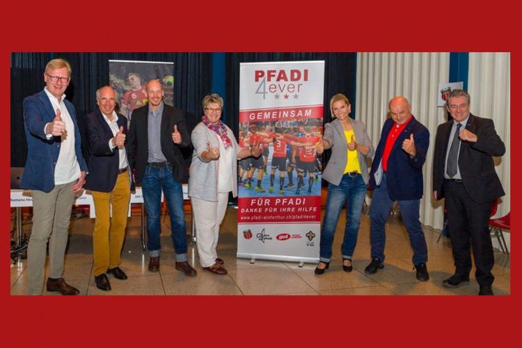 Pfadi4ever_Team_Medienkonferenz