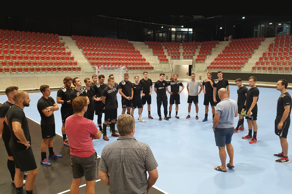 2019-07-22_NLA-Team_Trainingsbeginn AXA Arena