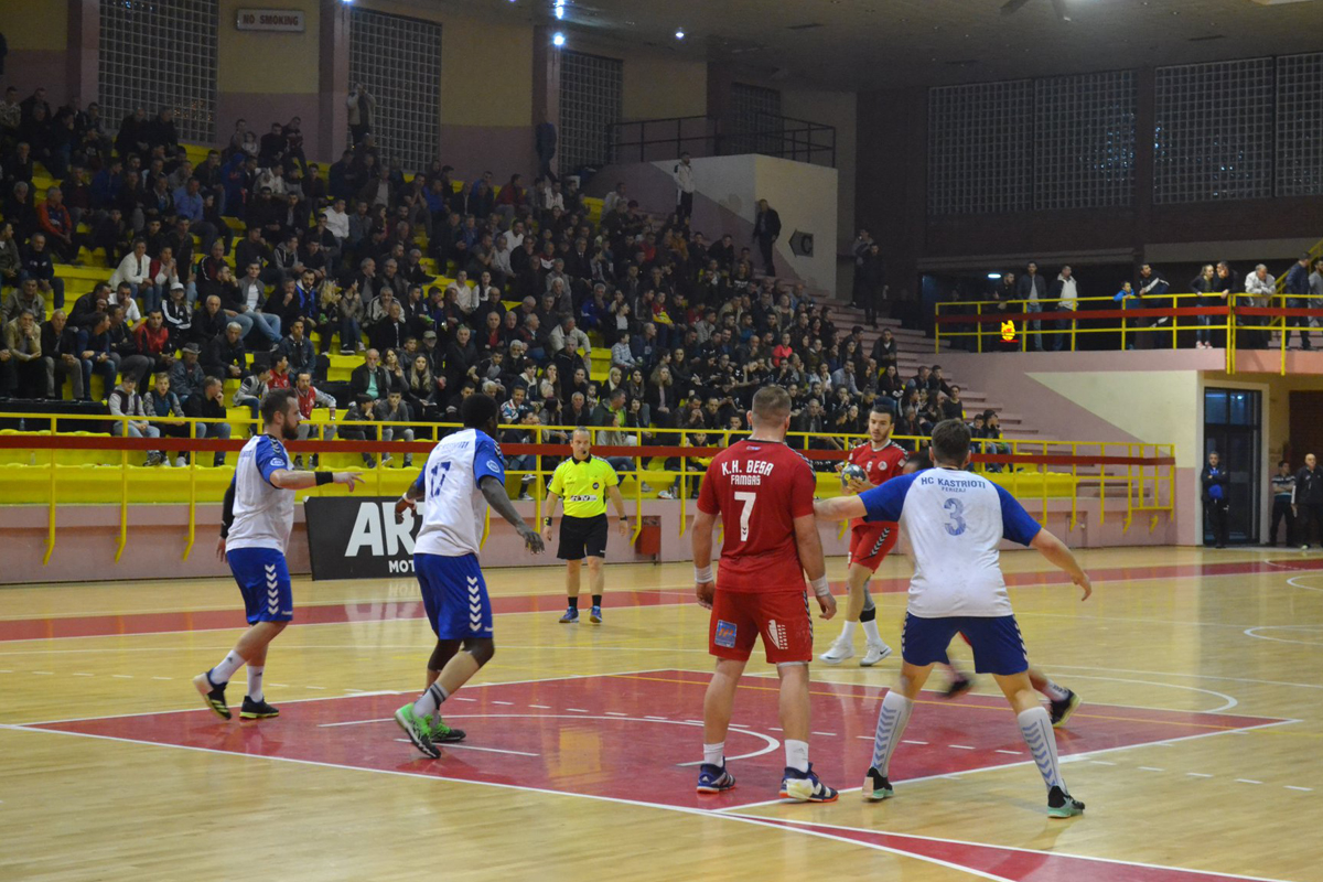 EHF Cup 2019_KH Besa Famgas_Bild 001_FB