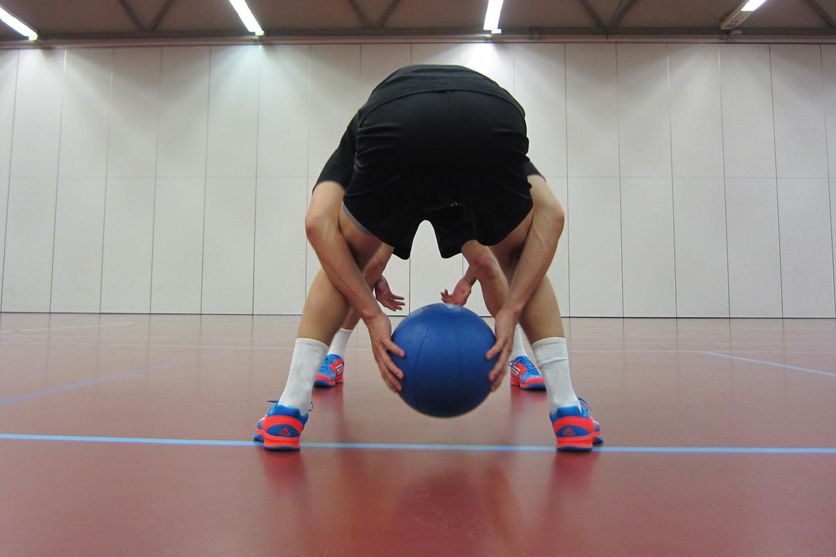 Training_Alltag_Medizinball