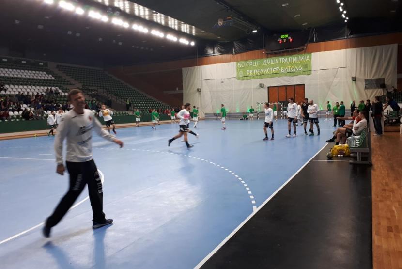 2019-10-12_HC Pelister Bitola_Aufwaermen 1