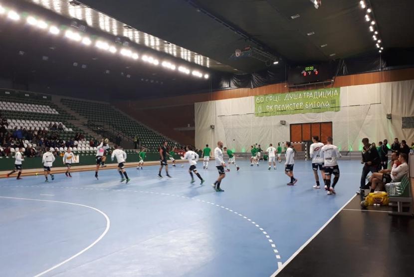 2019-10-12_HC Pelister Bitola_Aufwaermen 2