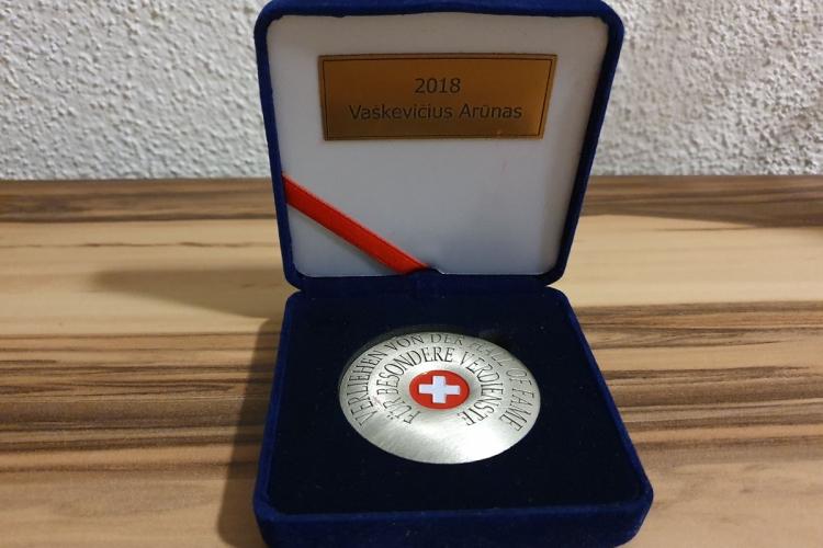 Arunas Vaskevicius_Auszeichnung HAll of Fame