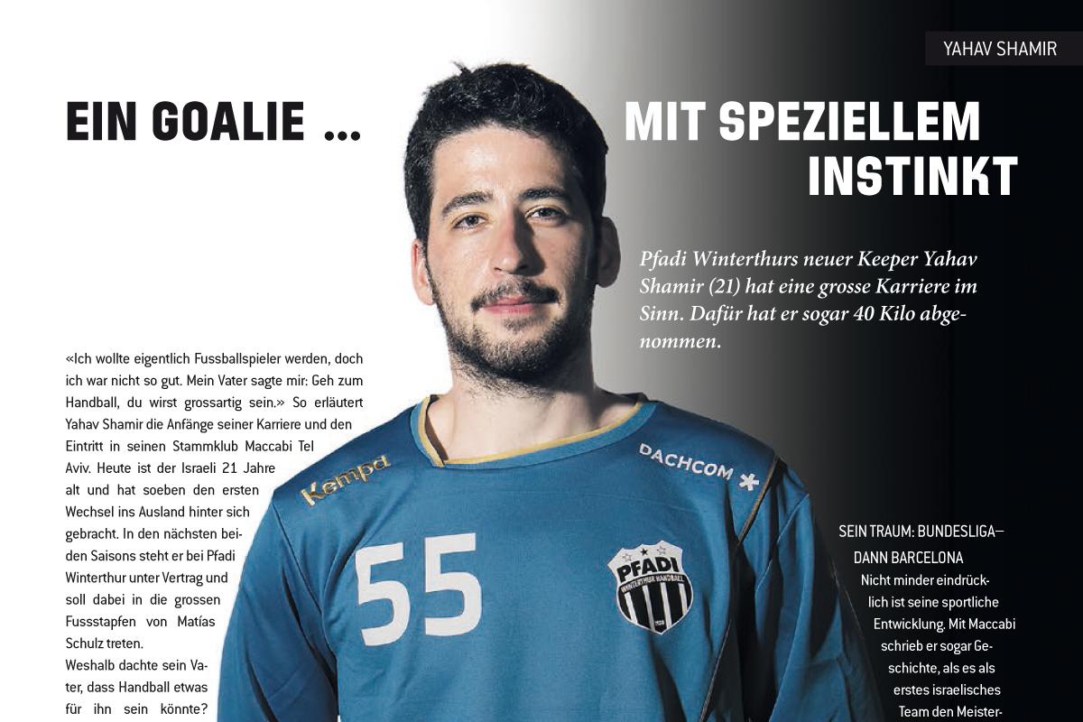 Handballworld_Yahav Shamir_Portraet