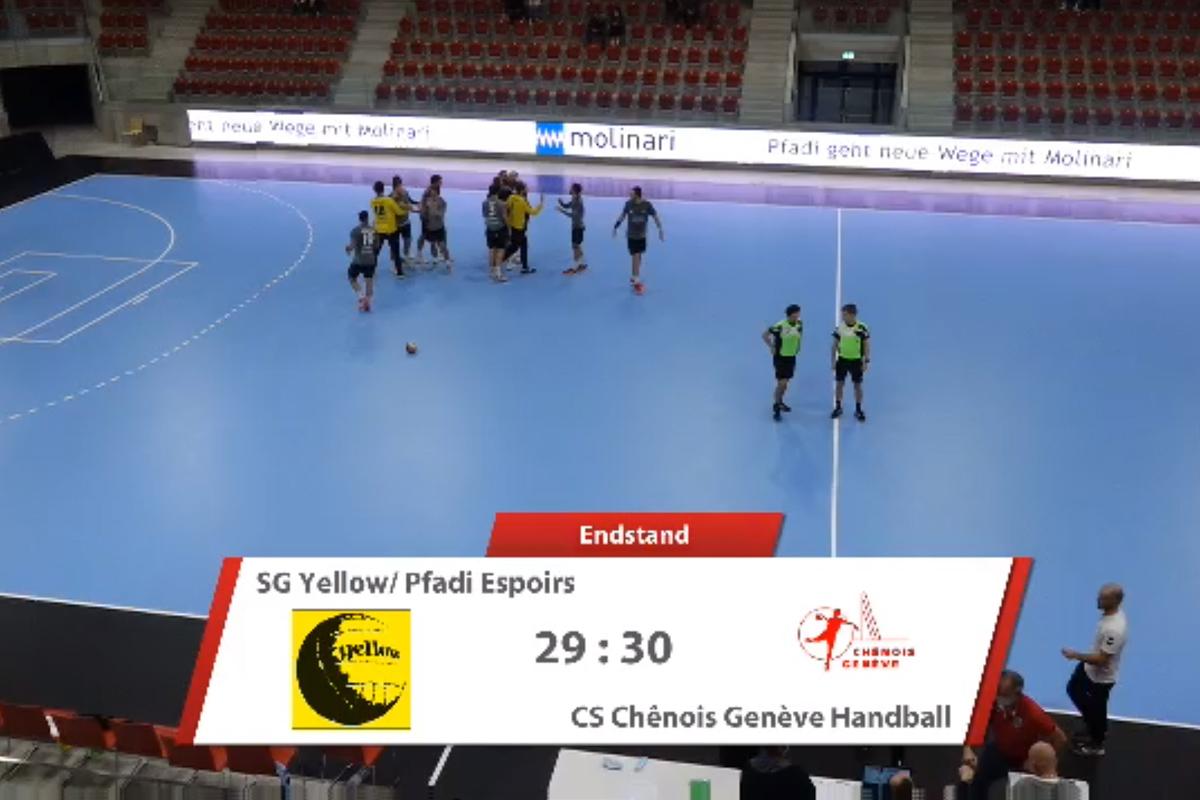 20201024_Espoirs vs Chenois_006_Niederlage