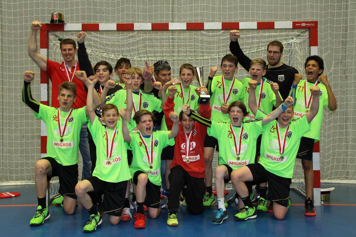 U13 Elite_Team_CH-Meister 2016-17