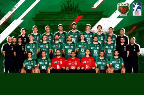 EHF EL_Teambild_Füchse Berlin_GER